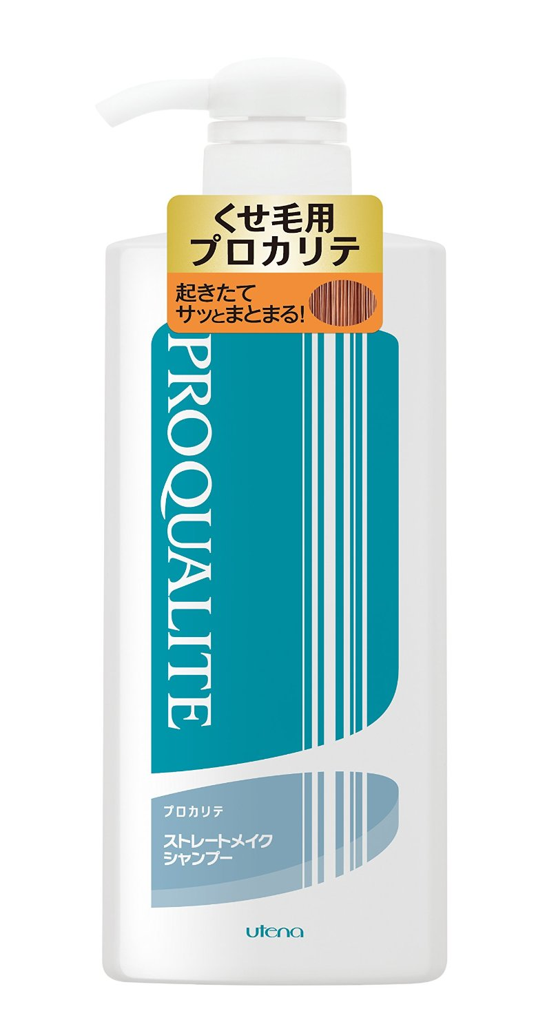 utena PROQUALITE | Shampoo | Straight Make Shampoo C Large 600ml for Frizz Hair (Japan Import)