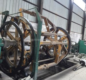 Second Hand Wood Drum 5 cores cable making machine