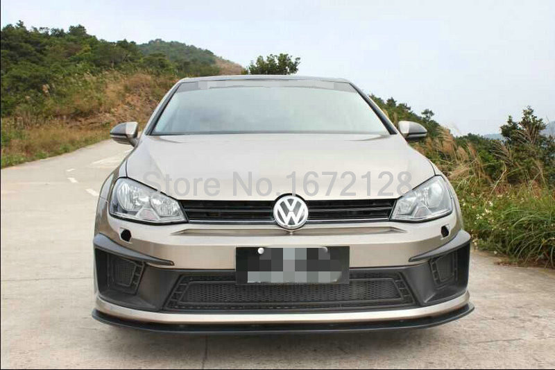 pu front bumper design for vw golf 7 r400 front bumper. Black Bedroom Furniture Sets. Home Design Ideas
