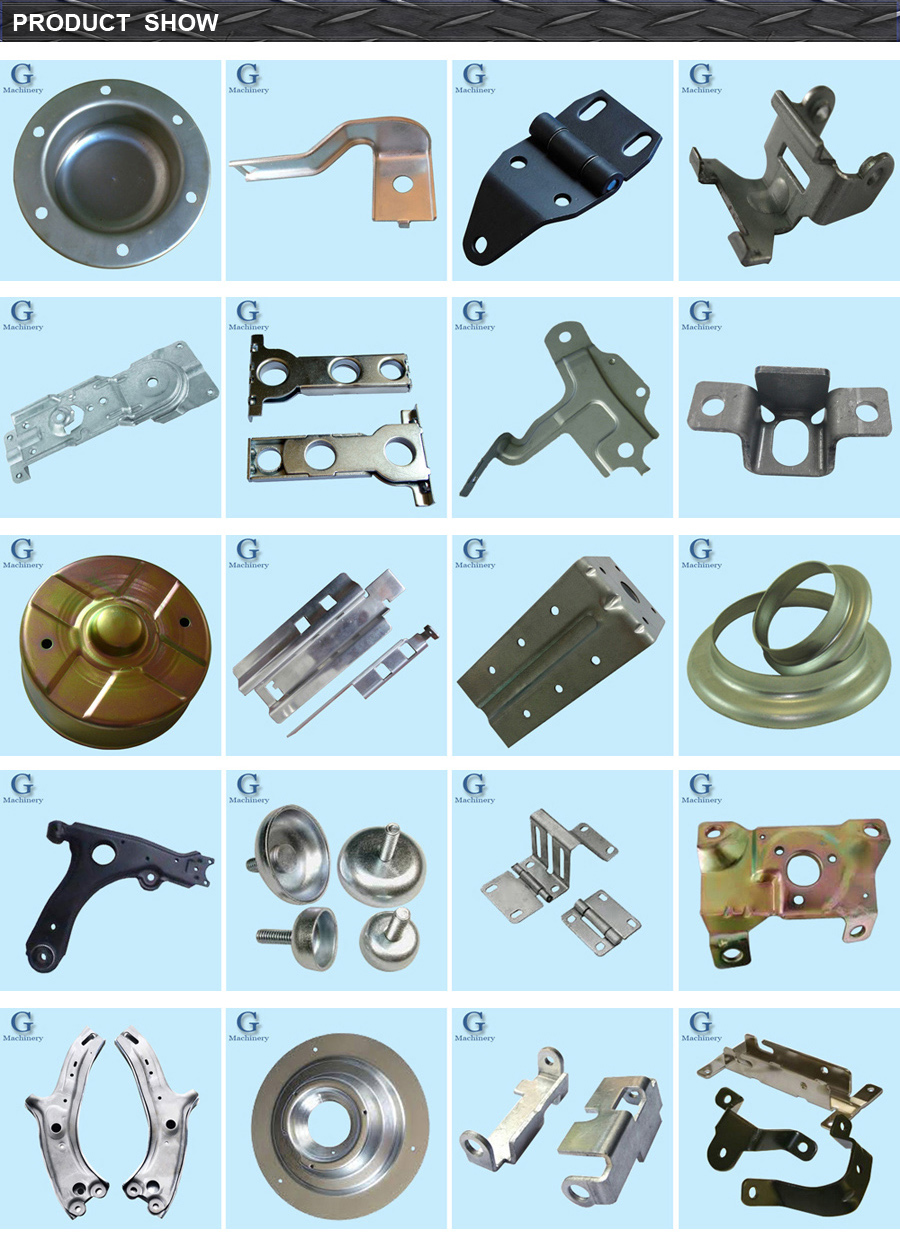 Sheet Metal Auto Parts Fabrication Engine Lift Bracket Set ...