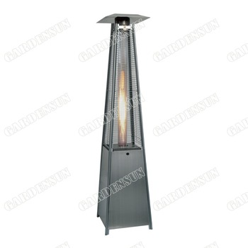 Popular morden pyramid outdoor gas patio heater with CE AGA ISO
