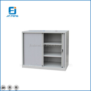 Office Furniture Roller Door Storage Cabinets 2 Door Metal Cabinets