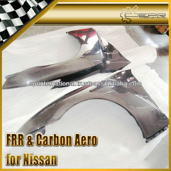 For Nissan R35 GTR GT-R OEM Carbon Fiber Front Fender Assembly Body Kits