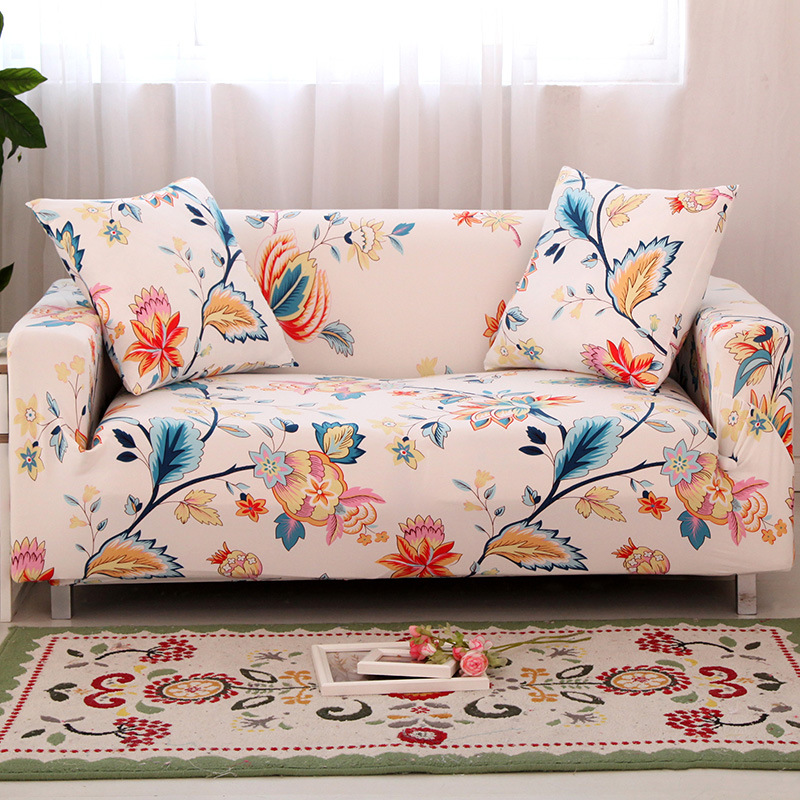 home use anti-skidding polyester simple modern sofa cover