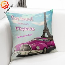 good quality hot sell popular decor seat cushion with pictures