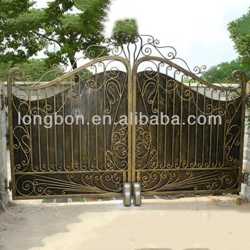 Top Selling Modern Beautiful Wrought Iron Garden Gate