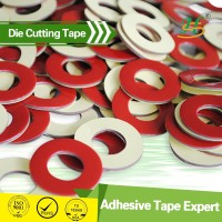 high adhesion custom stickers die cut PE foam double side adhesive tape
