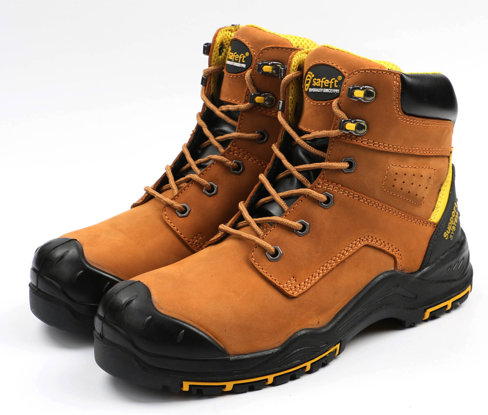 PPE elegant steel toe construction shock absorber heel safety shoes boot