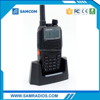 Best Selling SAMCOM fm radio station equipment for sale walkie talkie,ham radio with long range