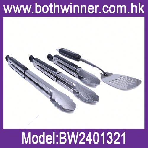 Stainless spatula h0tGh bbq cooking tool sets for sale