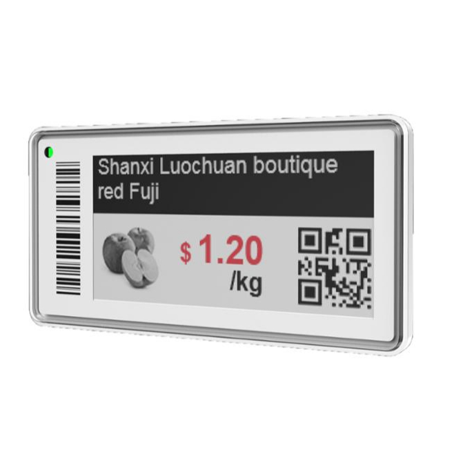 ESL electronic price tags for supermarket 2.13 inch