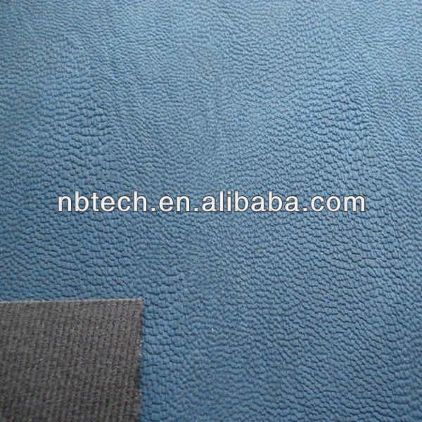 Embossed PU synthetic leather for footwear making