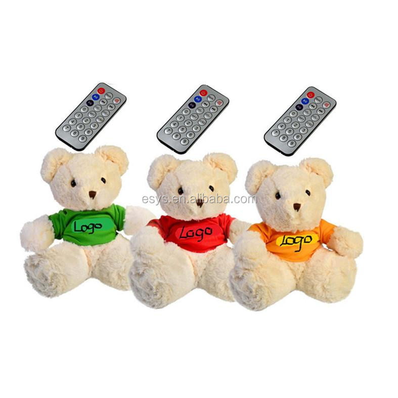 Plush bluetooth musical teddy bear