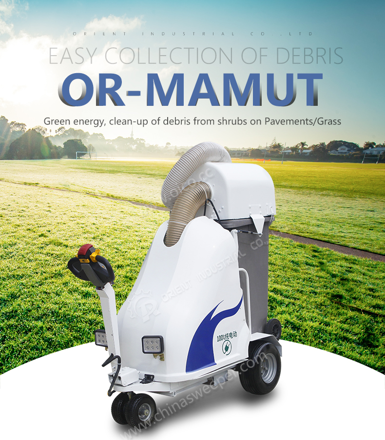 High Quality OR-MAMUT Pet Faeces Absorption Sweeper Industrial Vacuum Cleaner