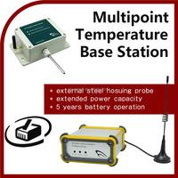 Multipoint Temperature Base Station soil moisture meter portable digital data logger