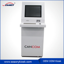 factory price multi touch screen kiosk / card dispenser kiosk / vending machine kiosk