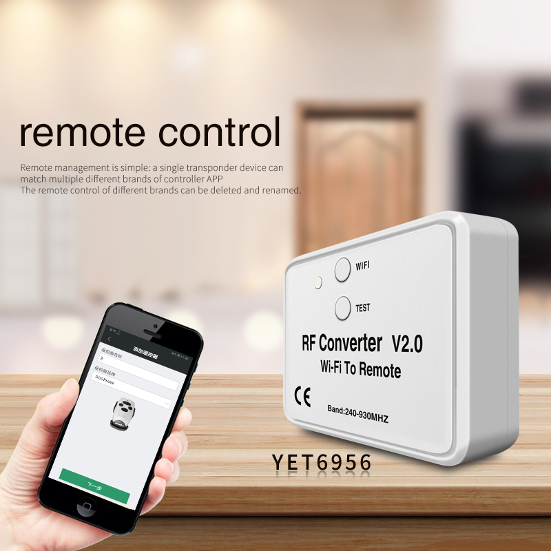 New Style Smart Home Wifi Connected Eemote Control Inverter YET6956WFRV2.0