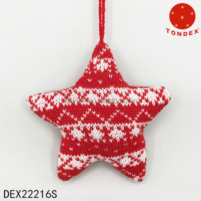 Handmade Knitted Christmas Decoration - Buy Holiday Ornament,Hanging ...