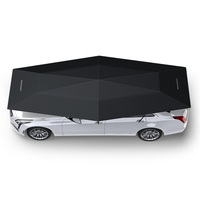 Mynew Automatic Car Exterior Accessories with Wireless Remote Controller car umbrella 4.8M black color NEW 4.2M
