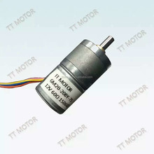 20mm dc high speed micro step motor for rolling