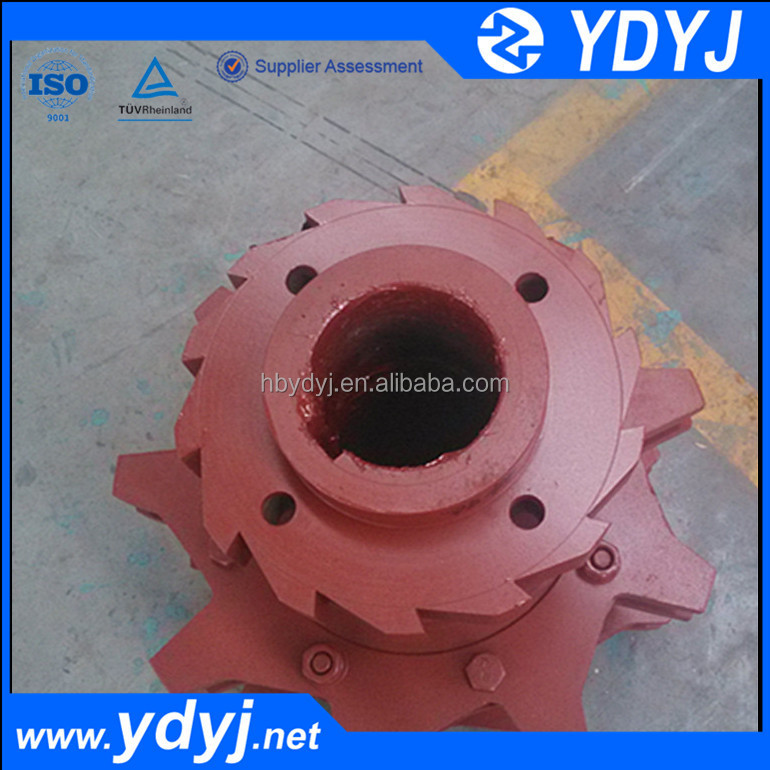 High hardness alloy wheel for conveyors