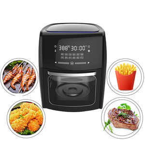10L Large Capacity Thermostat Controlled Deep Touch Screen Digital Air Circulation Fryer