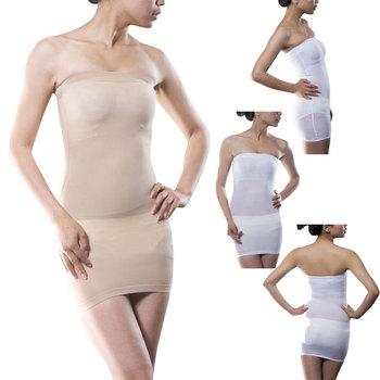 c3b661a98b87 Sculpting Nude Body Shaper Girdle Tight Tube Dress - Buy ...