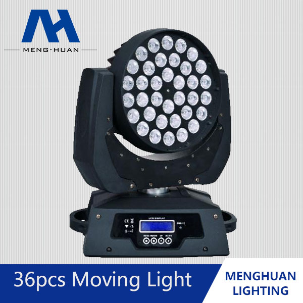 Hot Selling!!!36x18w 6in1 Led Moving Wash Zoom Stage Light,Dmx Dj ...