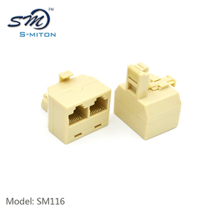 Best price 8p8c male to 2female ethernet cable rj45 connecter