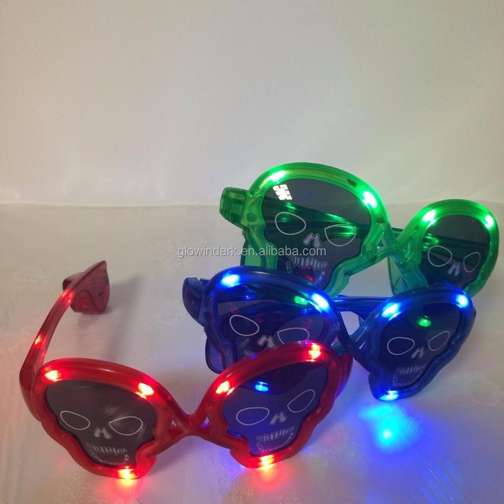 最高の価格熱い販売ledスパイダーマンメガネled派手なマスクマスクメガネ
