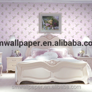 country orchid embossed wallpaper non-woven wallpaper investor seeks projects