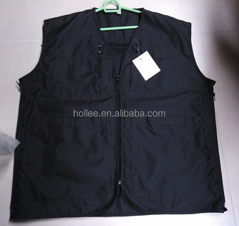 black vests oxford fishing vest with pockets