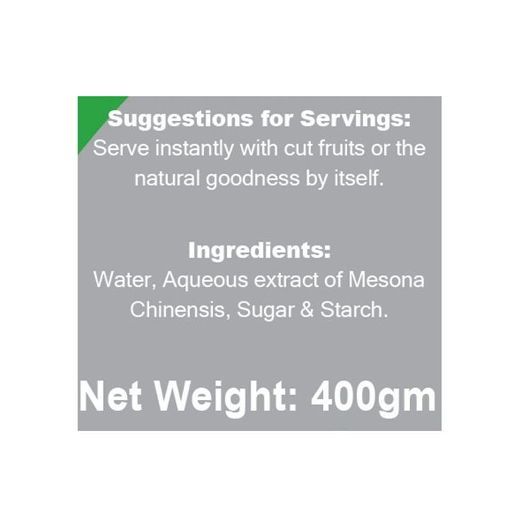 Singapore Food Suppliers Chin Chow Dessert 400gm