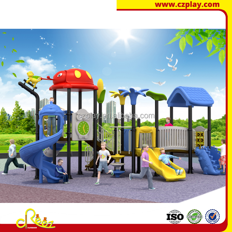2017 hot sports play ground childs plastic slide with slides
