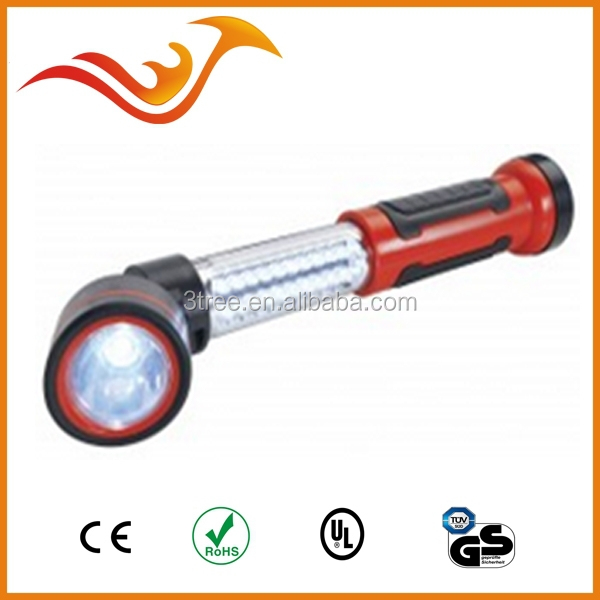 20+1LED telescopic work light with ajustable head