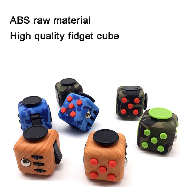 Generic Focus Cube,Magic Fidget Puzzle Cube Anti-anxiety Adults Stress Relief Kid Toy