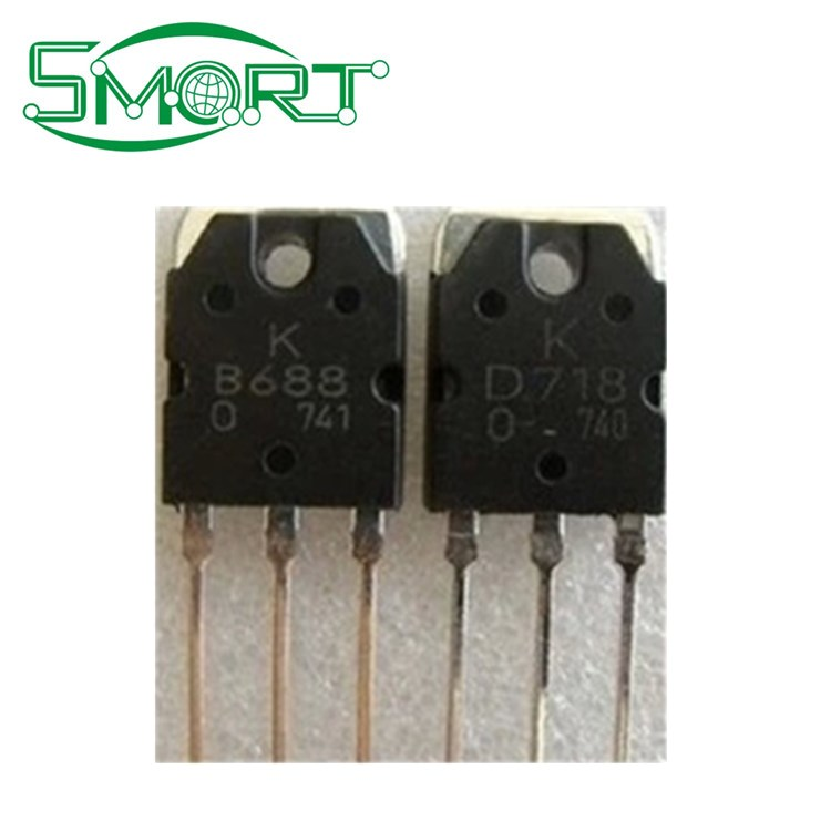Smart ~shenzhen Electronic Components Supplier D718/b688 Transistors Price  List For Electronic Components - Buy D718 Transistors,Lectronic