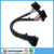 OBD 16PIN 1 male to 2 Female 16 Pin OBD extension cable splitter cable Y Cable