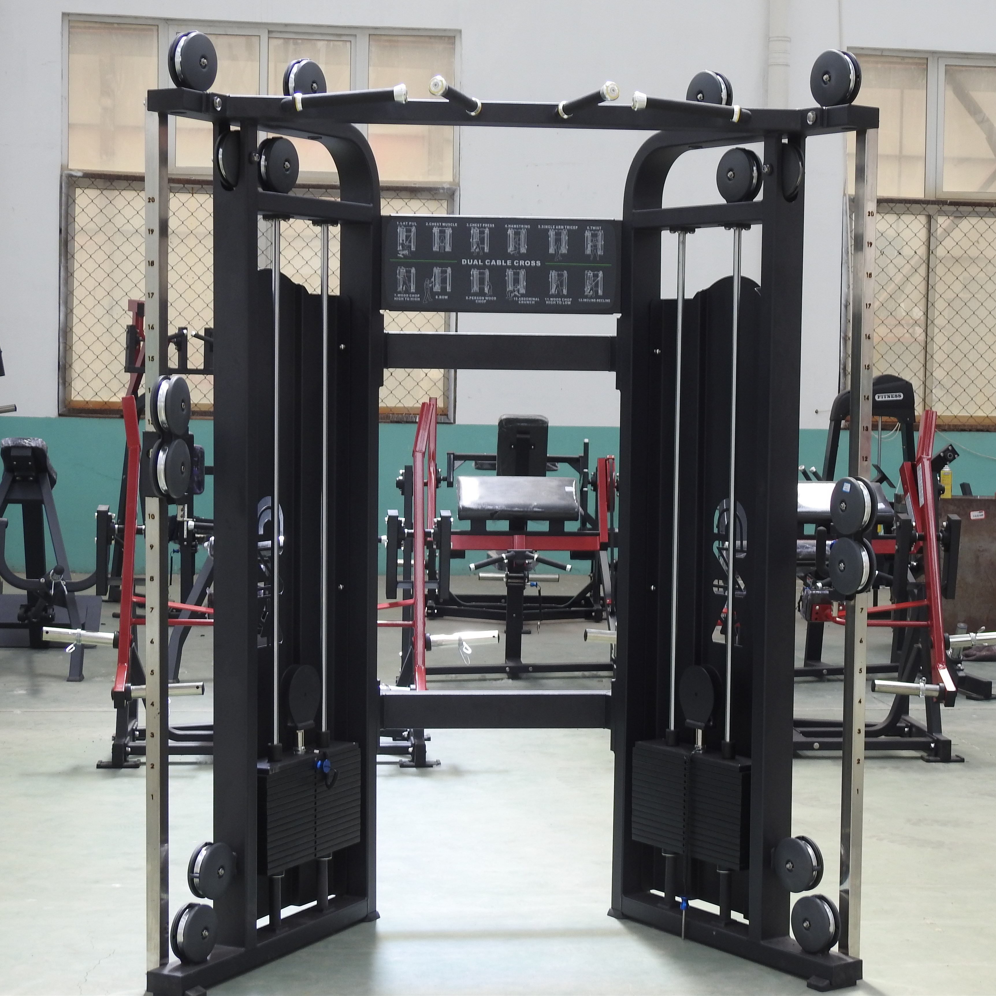 Commercial Gym Fitness Duel Cross
