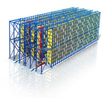 adjustable tyre storage pallet rack