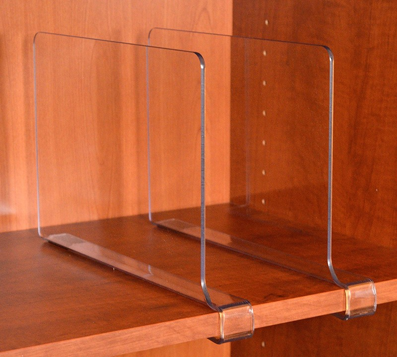 Wholesale Book ends/ Clear Acrylic Bookends