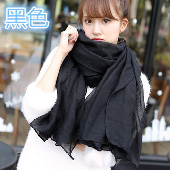 2017 New Arrival Large Cotton Scarves and Stoles