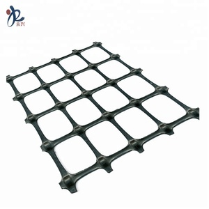 slope reinforcement single direction HDPE Geogrid 160kn