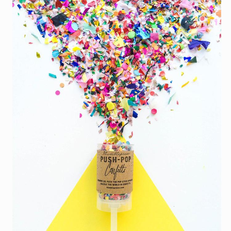 Картинки с конфетти поп, летом