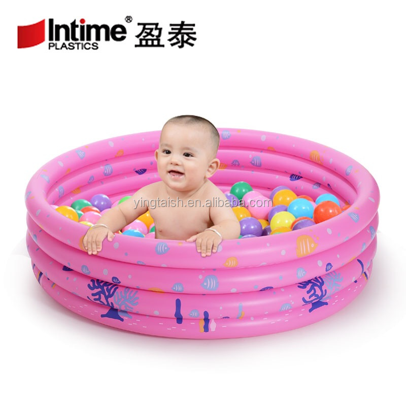 3-ring Round Inflatable 80x80 Baby Swimming Indoor Pool - Buy 80 80 ...