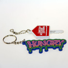 Eco friendly material custom 2d 3d logo shaped promotional soft pvc keychain