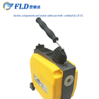Top standard electric 220V/110V snake protable pipe drain cleaning machine for sale in stock