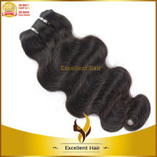 Hot online shopping No shedding and tangle new product 2015 human hair weft