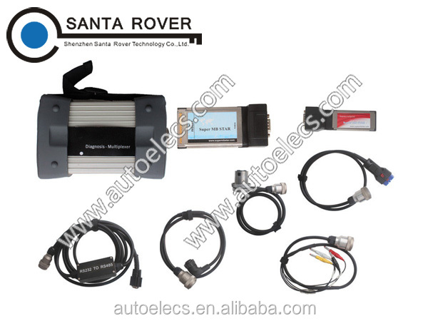 Top Version V2015.12 Mercedes Star C3 Diagnosis Multiplexer Super Mb Star Updated By Internet