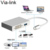 4 in 1 Type-c USB 3.1 Type C to VGA HD-MI DVI USB3.0 Female Adapter Converter for MacBook
